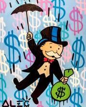 Alec Monopoly лучшие обои настенные художественные холст картины плакаты печать Современная живопись Настенная картина для гостиной домашний де...(Китай)