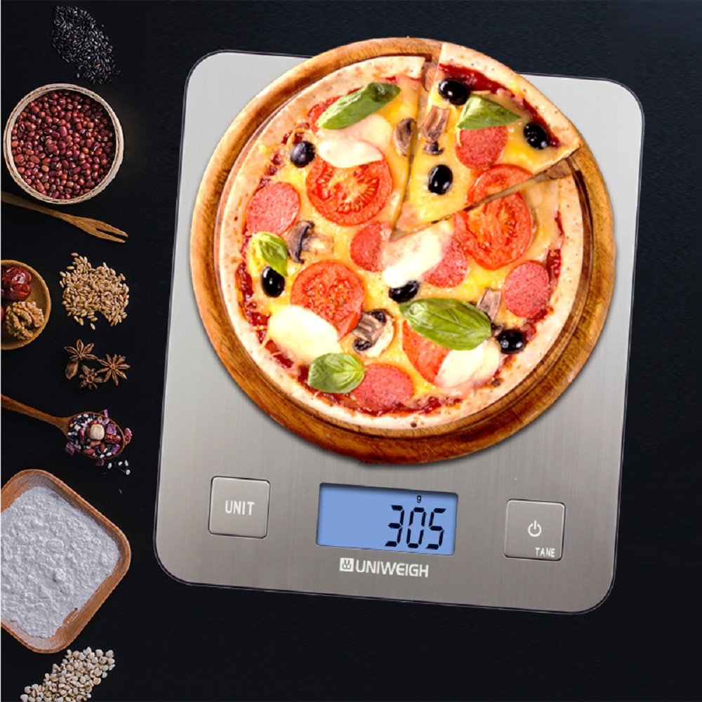 5KG Professional Touch Digital Kitchen Scale Electronic Food Scales Measuring Tools/ LCD Display & Stainless Steel Platform