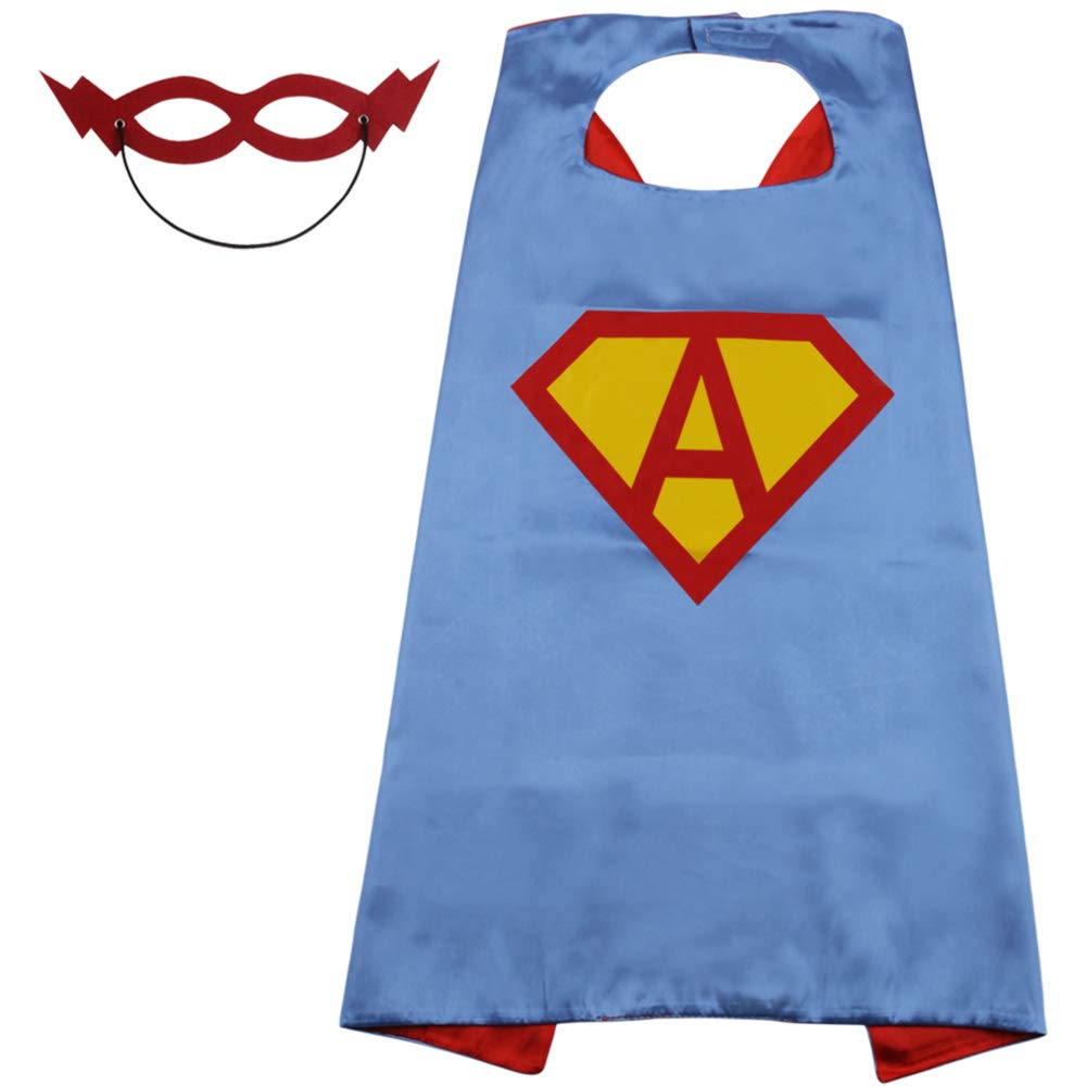 High quality children <strong>kids</strong> christmas super hero <strong>cape</strong> and mask costume