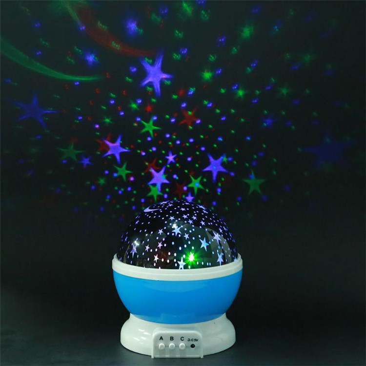 Proyector de noche Ramadán Mubarak, lámpara de estrella giratoria, Galaxia romántica, Navidad, cielo para niños