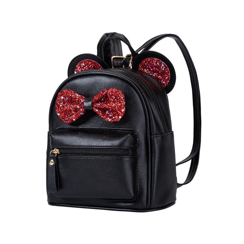 Фабрика Heopono BSCI, миниатюрная милая маленькая детская школьная сумка из искусственной кожи, прекрасный рюкзак для девочек и мальчиков для дошкольников для детей
