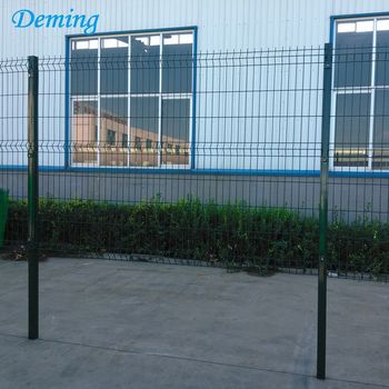 Factory Price Curve Green Painted 3D Welded Mesh Fencing