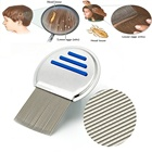 Nit Comb Stainless Steel Metal Head Lice Comb