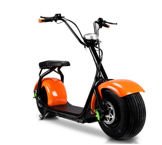 Hot selling 1500w 60v lithium batterij citycoco Scrooser SEEV goedkope stad fat tire elektrische scooter met terug spiegel