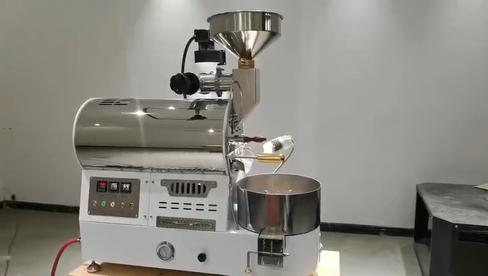 Kecil Rumah Kopi Roaster 1Kg Electric Coffee Roaster