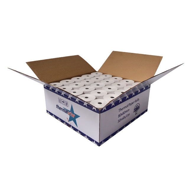 Thermal Paper for Printing 80X80mm Thermal Jumbo Roll