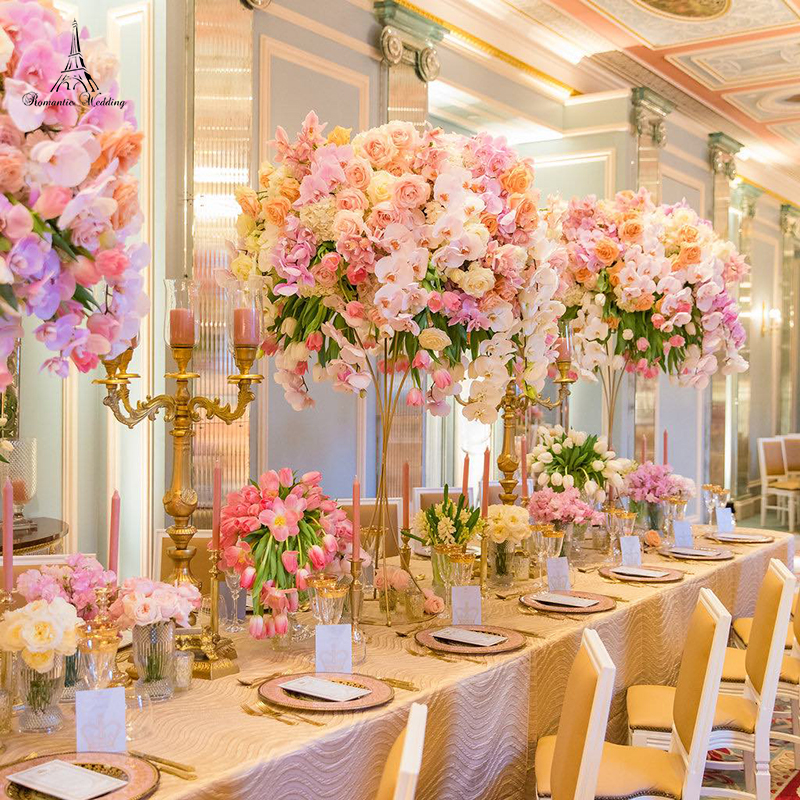 Metal Gold Flower Stand For Weddings Table Centerpiece Wedding Decoration Material Flower Vase Gold For Free Shipment Buy Wedding Decoration Wedding Flower Vase Product On Alibaba Com