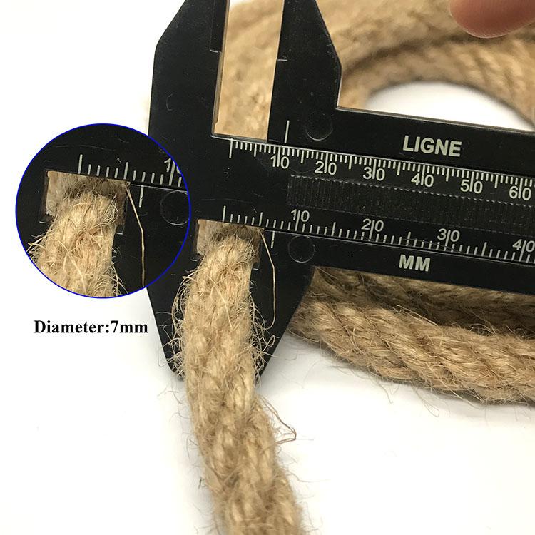 Wholesale all size  jute twine rope /  jute hemp rope / latest jute sisal rope