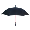 190T Pongee automatic matching color straight umbrella with hot sale