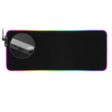 ปรับแต่งAnimated Xxl RGB Led Gaming Mouse Pad 1 HUBพอร์ตUsb