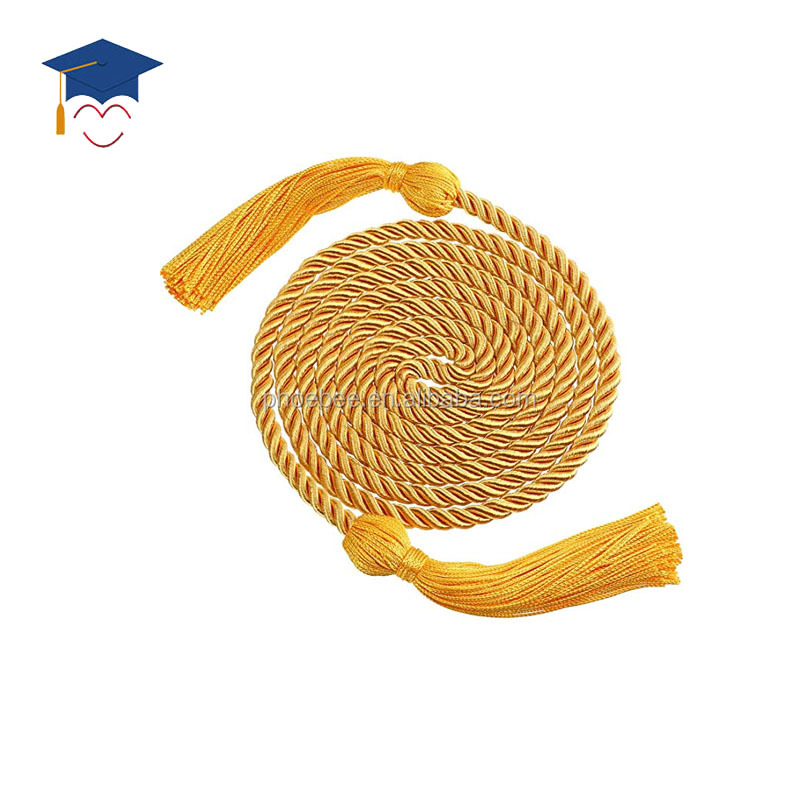 Cheap honor tassel cord graduation honor cord