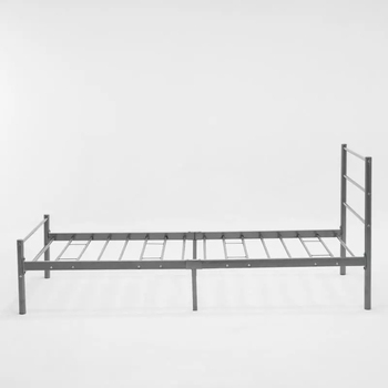 Wholesale cheap single metal bed frames comapact package metal bed frame