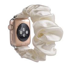 Эластичный ремешок для часов apple watch Series 5, 4, 3, 2, 1, 31 цвет, спортивный браслет для iwatch, ремешок, женские резинки, браслет(Китай)