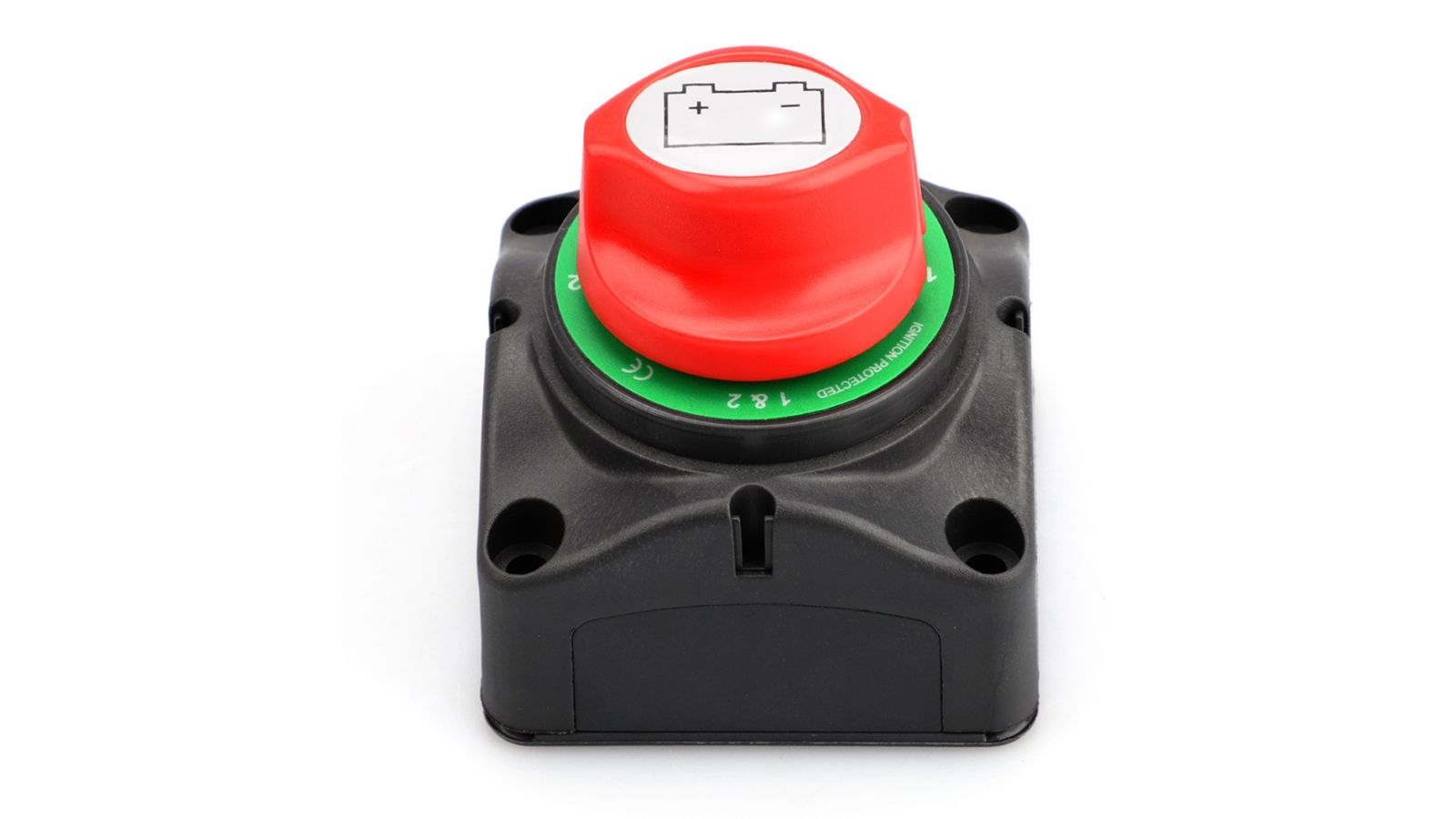 12V 48V DC Heavy Duty Battery Selector Switch Disconnect 1-2-Both-Off