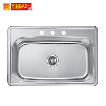 3322FFactory price double bowl farmhouse sink stainless steel wall mount sink