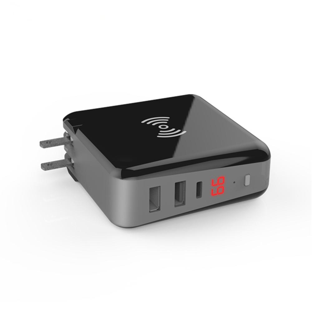 MIQ venta al por mayor de la batería del teléfono móvil banco de energía inalámbrico de dock soporte, li-polímero cargador
