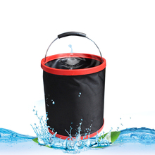 Multifunktionale 12 liter tragbare auto waschen faltbare <span class=keywords><strong>eimer</strong></span> angeln outdoor notfall