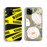 Printed for iPhone 7 8 X Black Cover Customize Own LOGO, TPU Rubber Custom Cell Phone Case for iPhone 11 Silicon Case Printing