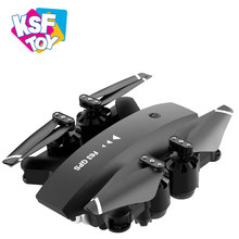 2020 hot selling headless mode 2.4G hd folding drone camera 1080p with wifi camera and gps