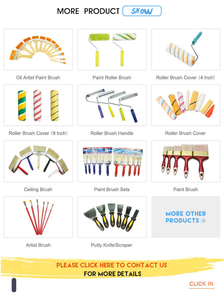 Factory Supply paint brush with supermarket price on sale