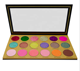 High quality low moq pigment holographic18 colors eyeshadow palette custom private label