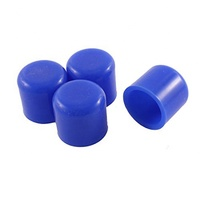 Custom Various Size Silicone Rubber End Caps for Pipe