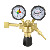 Wall mounted medical oxygen regulator flowmeter medical oxygen regulator with flowmeter
