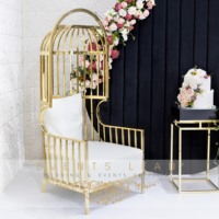 Latest Designed Luxury Event Furniture BIRD CAGE Chair From Wedding Supplies