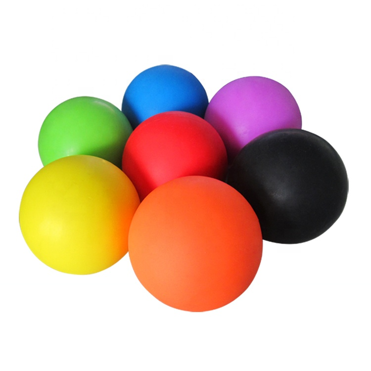 Fitness-Rehab-Therapie-Massage-Ball-Gymnastikball-Lacrosse-Ball mit hoher Dichte