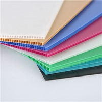 Hot Sale 2mm to 12mm PP Hollow Boards Corrugated Plastic Sheet for Packaging