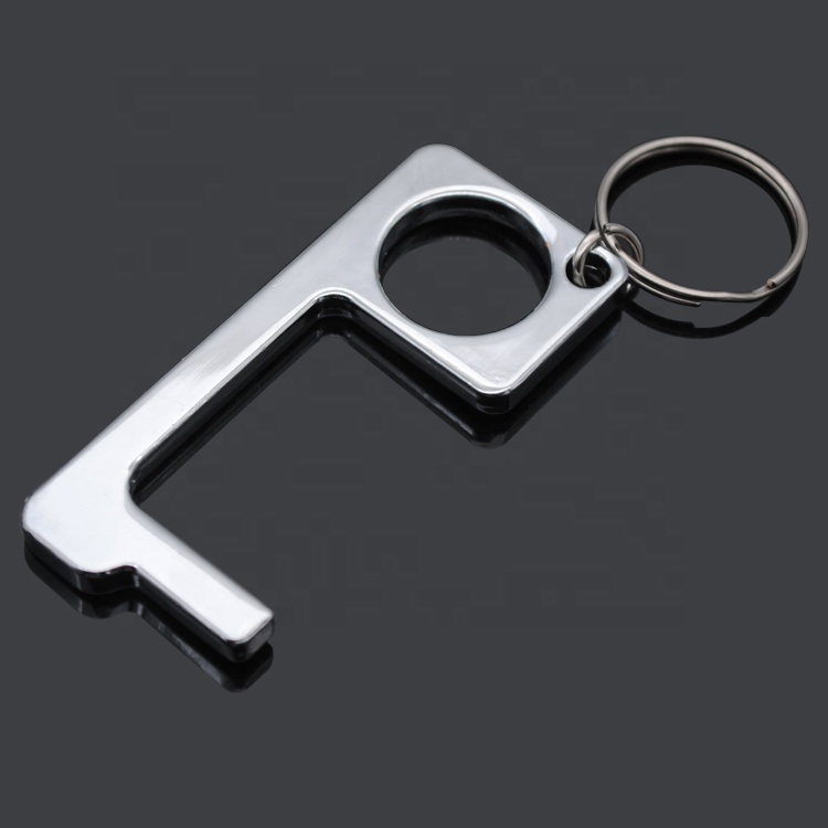 Hot product Non Contact Hygiene Door Opener Keychain for epidemic prevention