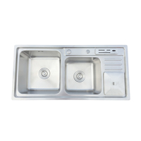 DS-9245 stainless steel sink cabinet kitchen sinks stainless steel freestanding kitchen sink