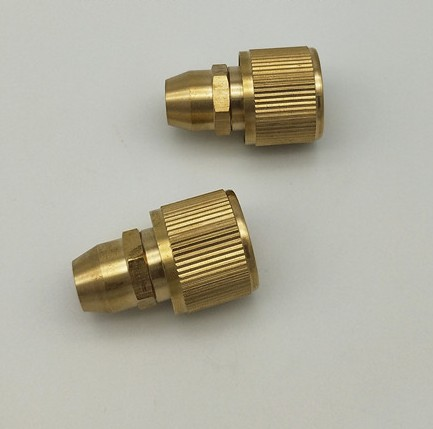 Brass 3/8 water gun <strong>nozzle</strong> garden watering fast <strong>connector</strong> <strong>nozzle</strong> hose fast connect