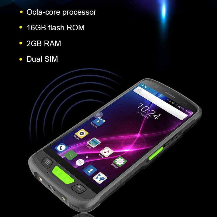 PDAs Hersteller IP67 robuste pda 2d Barcode-Scanner pda Handheld Android RFID-Leser, 2d Android Barcode, 1d Laser QR-Code