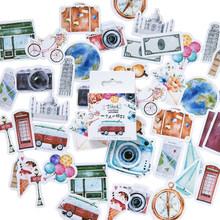 46 шт./упак. планировщик для скрапбукинга, канцелярские принадлежности, японский дневник, эстетические корейские туристические наклейки, во...(Китай)