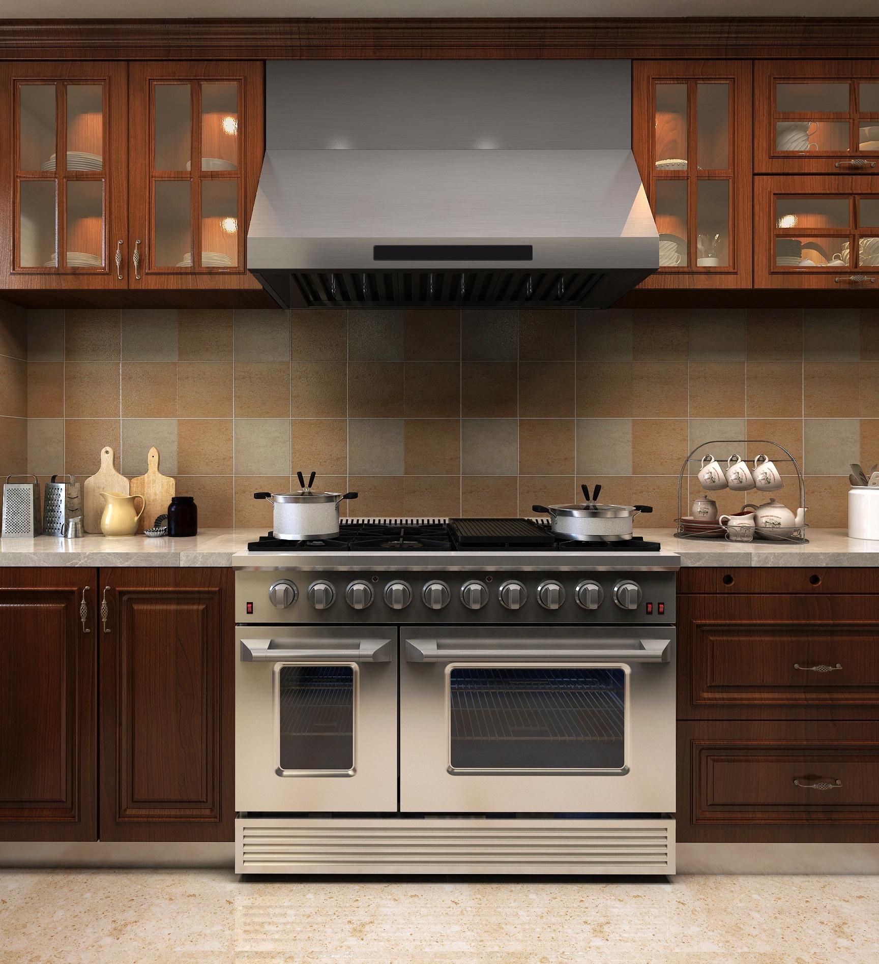 SENG CSA certified kitchen stainless steel 48