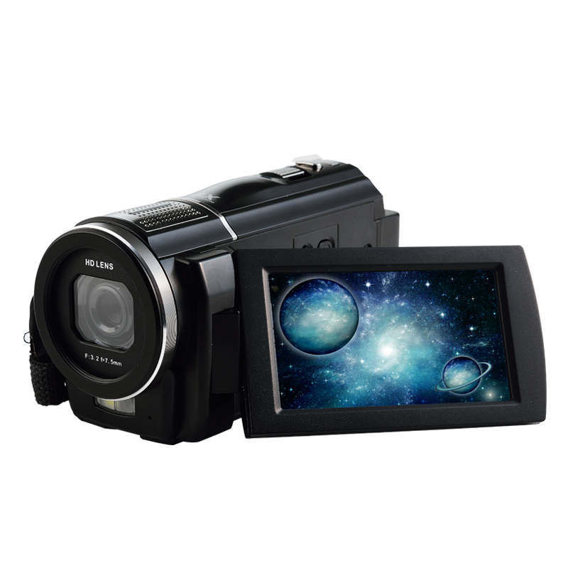 "Wholesale Digital Kamera Video Digital 3.0 ""1080P HD Camcorder Wajah Dan Deteksi Senyum"