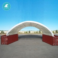 JQR2640C steel frame container shelter