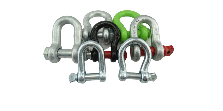 US Type Bolt Anchor Shackle Stainless Steel Bow Shackles
