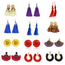 12 пар, массивные Серьги-кисточки, Женские Висячие серьги-капельки, серьги для женщин, ювелирные изделия(Китай)