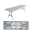 Hot Sale Original Factory Customized Design Outdoor Furniture Folding Dining Table
