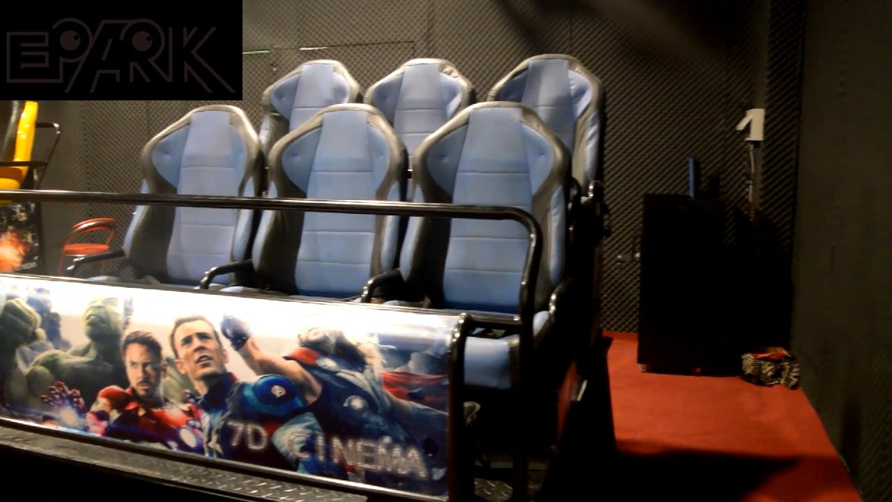 EPARK rạp hát tại nhà 5d 7d 9d 12d cinema thủy lực và hệ thống điện với phim 3d