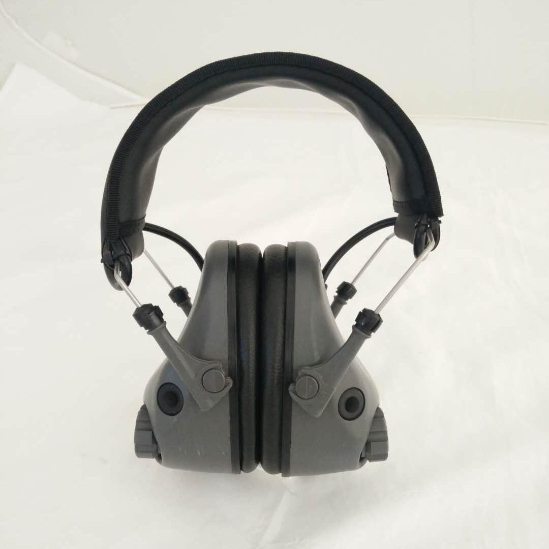 Verstelbare Oor Bescherming, Geschikt Voor Kinderen Te Gebruiken Unieke Ontwerp Oorbeschermers Met Oordopjes Microfoons