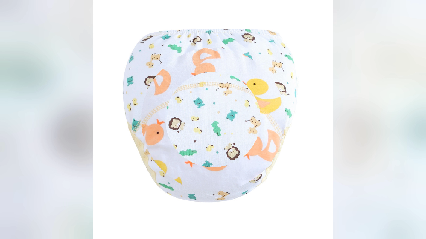 Wholesale diaper pants unisex cartoon lovely animal cloth diaper new arrival baby training pants for baby