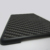 For iPad mini5 7.9 inch matte pc grooved case with carbon fiber sheet phone case