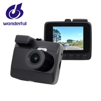 2019 high-end car dash cam dual lens 1080p video resolution car camera dvr dash cam support wifi and gps car black box