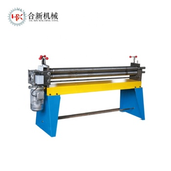 3 Rollers electric bending machine manual 3 roller plate rolling machine