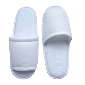 Wholesale hot selling true beauty cloth ultra-thin biodegradable disposable luxury hotel slippers