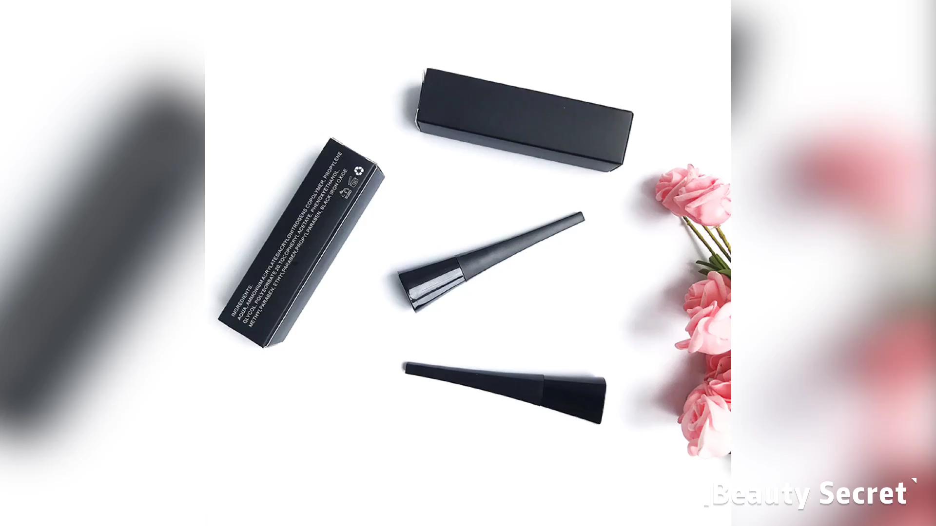 Beauty secret makeup liquid eyeliner glitter eye liner for private label