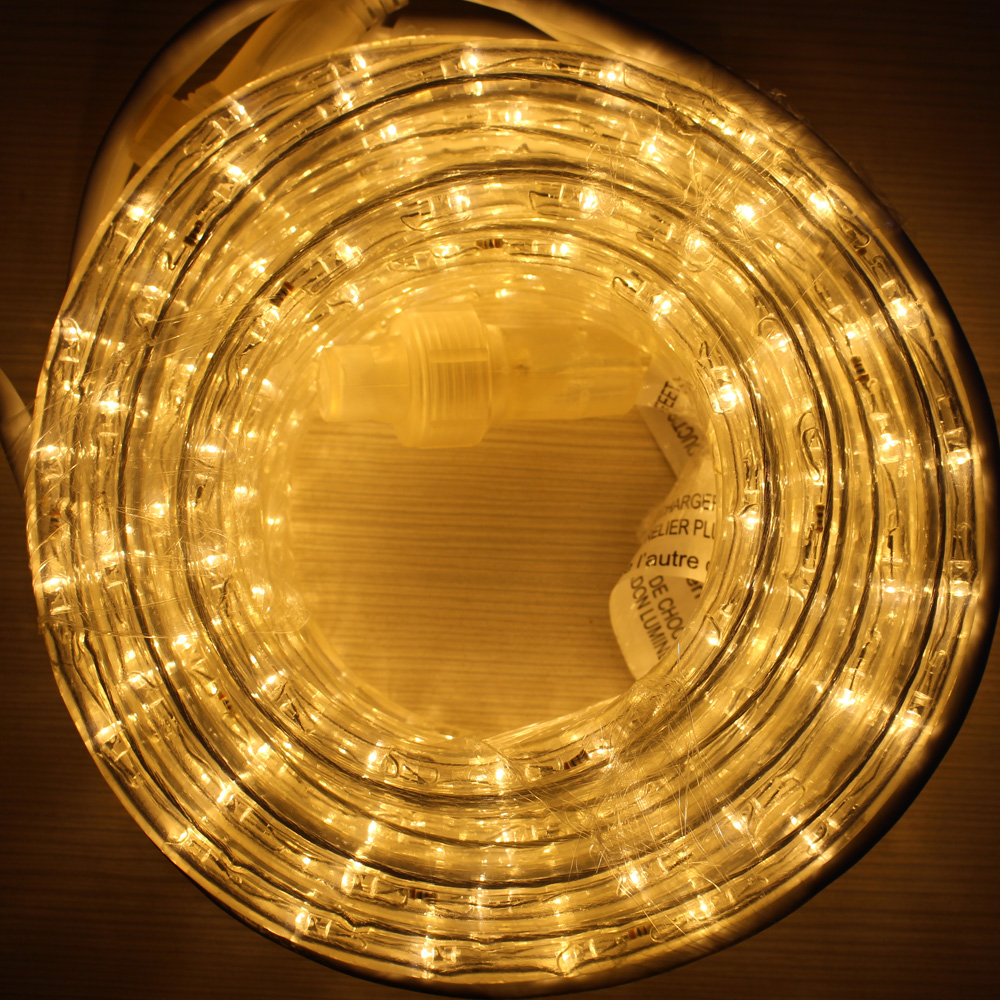 LED rope light merry Christmas strip light 36led/m 18ft 7.2w/m color changeable for home decoration China manufacture
